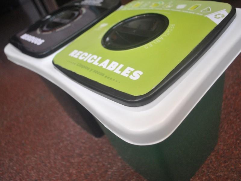 Cesto Doble, uno de los tachos sustentables que se ofrecen en el mercado