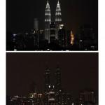 Las Torres Petronas se suman a la Earth Hour