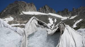 "Glaciar ""con frazadita"""