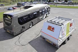 Bus hound, cargando combustible